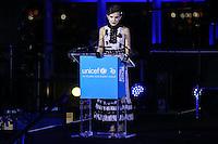 NEW YORK, NY, 12.12.2016 - ONU-UNICEF -   A atriz inglesa Millie Bobby Brown durante evento de 70º aniversário da UNICEF (Fundo das Nações Unidas para a Infância) na sede da Nações Unidas em New York os Estados Unidos nesta segunda-feira, 12. (Foto: Vanessa Carvalho/Brazil Photo Press)