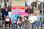 CARNIVAL: Members of teh Castleisland  May Weeklend Festival and Carnival on Tuesdau evening at the fountain Castleisland. Billy and Kay Reidy, Ted Kenny, Mags O'Connor, Dan Casey, Pat Moriarty, Paddy Jones, Francis McCarthy, Denis O'Connor,Charlie Farrelly, Con Moynihan, Francis Moynihan, Colm Nolan, John Ryan, Charles Nolan, Andrew,Joanna and Deirdre Nolan.