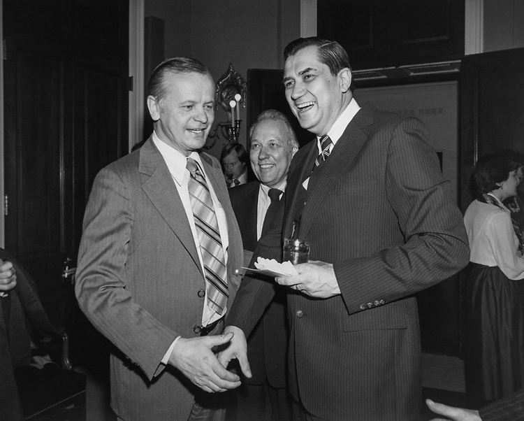 Congressional aide Hyde Murray along with party members at Rayburn House Office Building. (Photo by CQ Roll Call via Getty Images)
