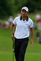 Edoardo Molinari (ITA) on the 10th green during Round 2 of the Irish Open at Fota Island on Friday 20th June 2014.<br /> Picture:  Thos Caffrey / www.golffile.ie