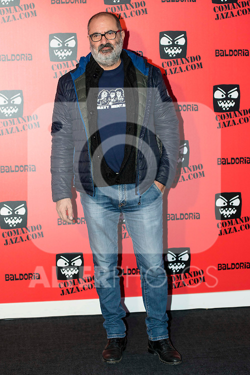 Joaquin Climent attends the presentation of the brand &quot;Comando Jaza&quot; in Madrid, December 14, 2015<br /> (ALTERPHOTOS/BorjaB.Hojas)