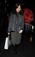 Gemma Chan at the Perception at W launch party, W Hotel, Wardour Street, London, England, UK, on Tuesday 07 November 2017.<br /> CAP/CAN<br /> &copy;CAN/Capital Pictures