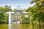 Crystal Palace, Madrid, Spain. Buen Retiro Park.