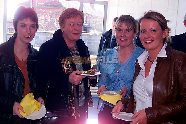 Teachers of St Ita,s Mirian Corboy,Olive Byrne,Bernie Callan and Nianh Byrne at the Opening of the New Wing that is catering for Autism...Pic Tony Campbell/Newsfile