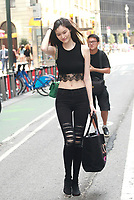 NEW YORK, NY - AUGUST 25: Sui He attends fittings for the Victoria's Secret 2017 Fashion Show on August 25, 2017 in New York City. Credit: DC/Media Punch