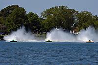 "Brandon Kennedy, GP-25 ""EMS Survivor"", Mathew Daoust, GP-9, Marty Wolfe, GP-93 ""Renegade""  (Grand Prix Hydroplane(s)"