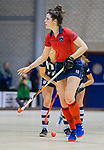 ROTTERDAM  - NK Zaalhockey . finale dames hoofdklasse: hdm-Laren 2-1. hdm landskampioen. Maxime Kerstholt (Lar)        COPYRIGHT KOEN SUYK