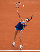 ANA IVANOVIC (SRB)<br /> <br /> Tennis - French Open 2014 -  Toland Garros - Paris -  ATP-WTA - ITF - 2014  - France - <br /> 29 May 2014. <br /> <br /> &copy; AMN IMAGES