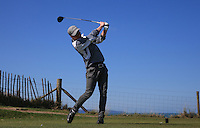 Nathan Fell during Round Two of the West of England Championship 2016, at Royal North Devon Golf Club, Westward Ho!, Devon  23/04/2016. Picture: Golffile | David Lloyd<br /> <br /> All photos usage must carry mandatory copyright credit (&copy; Golffile | David Lloyd)