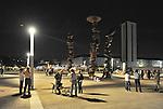 A passeggio in Piazza Olimpica