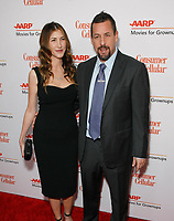 BEVERLY HILLS, CALIFORNIA - JANUARY 11: Adam Sandler and wife Jackie Sandler attend AARP The Magazine's 19th Annual Movies For Grownups Awards at Beverly Wilshire, A Four Seasons Hotel on January 11, 2020 in Beverly Hills, California.   <br /> CAP/MPI/IS<br /> ©IS/MPI/Capital Pictures