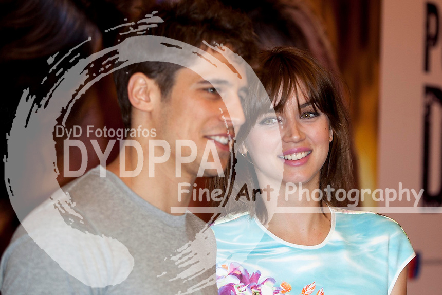 Cuban actress Ana de Armas and Spanish actor Martin Rivas during the  'Por un Punado de Besos' film photocall at Palafox cinema in Madrid on May 14, 2014. Photo by Nacho Lopez / DyD Fotografos-DYDPPA
