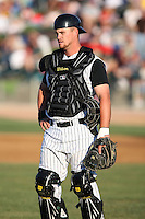 August 17 2008:  Petey Paramore of the Kane County Cougars, Class-A affiliate of the Oakland Athletics, during a game at Philip B. Elfstrom Stadium in Geneva, IL.  Photo by:  Mike Janes/Four Seam Images