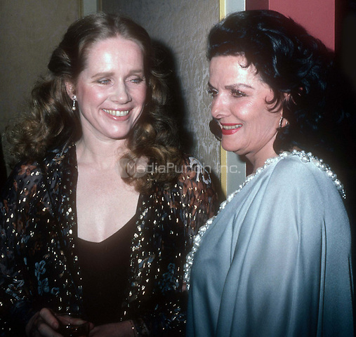 #LivUllman #Jane Russell 1985<br /> Photo By John Barrett/PHOTOlink.net / MediaPunch