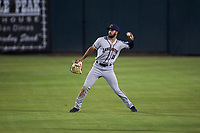 Lancaster JetHawks right fielder Willie Abreu (13) during a California League game against the Inland Empire 66ers at San Manuel Stadium on May 18, 2018 in San Bernardino, California. Lancaster defeated Inland Empire 5-3. (Zachary Lucy/Four Seam Images)