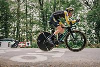 Steven Kruijswijk (NED/LottoNL-Jumbo)<br /> <br /> Stage 20 (ITT): Saint-P&eacute;e-sur-Nivelle &gt;  Espelette (31km)<br /> <br /> 105th Tour de France 2018<br /> &copy;kramon