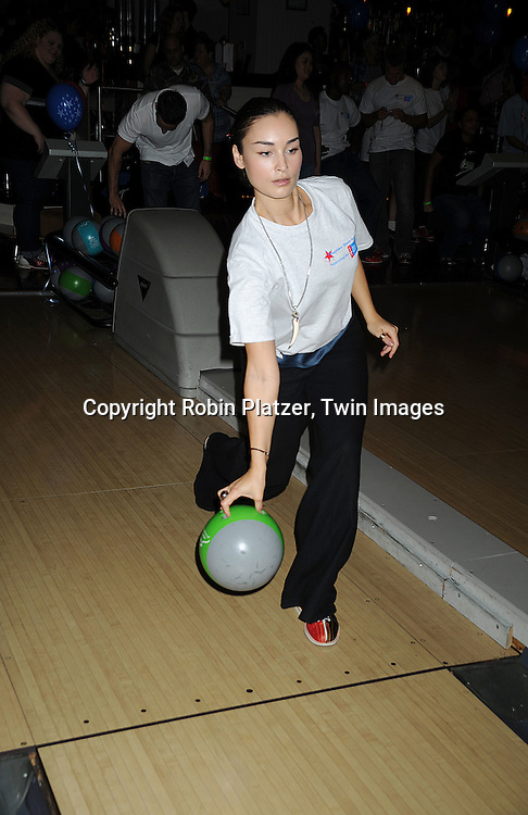 "Ewa da Cruz..at The Fifth Annual ""Daytime Stars and Strikes"" for The American Cancer Society on September 28, 2008 at The Port Authority Bowling Alley. Jerry verDorn and Liz Keifer were the hosts. ....Robin Platzer, Twin Images"