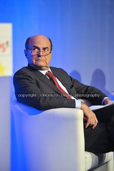 Pier Luigi Bersani, former leader of centre-left Italian party Partito Democratico (PD).