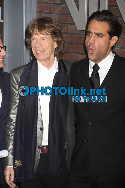 Mick Jagger and actor James Jagger in 2016<br /> Photo By John Barrett/PHOTOlink.net
