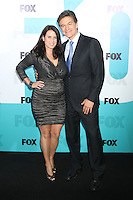 Lisa Oz and Dr. Mehmet Oz at the Fox 2012 Programming Presentation Post-Show Party at Wollman Rink in Central Park on May 14, 2012 in New York City.