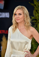 "LOS ANGELES, USA. October 08, 2019: Rhea Seehorn at the premiere of ""El Camino: A Breaking Bad Movie"" at the Regency Village Theatre.<br /> Picture: Paul Smith/Featureflash"
