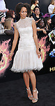 Latarsha Rose at premiere for The Hunger Games held at the Nokia Theatre L.A. Live Los Angeles, CA. March 12, 2012
