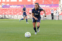 Bridgeview, IL, USA - Sunday, May 29, 2016: Sky Blue FC midfielder Taylor Lytle (6) during a regular season National Women's Soccer League match between the Chicago Red Stars and Sky Blue FC at Toyota Park. The game ended in a 1-1 tie.