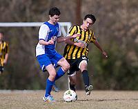 Advance, NC - November 8, 2014: US Soccer Development Academy held the U-13/14 regional showcase at BB&T Soccer Park in Advance, NC.