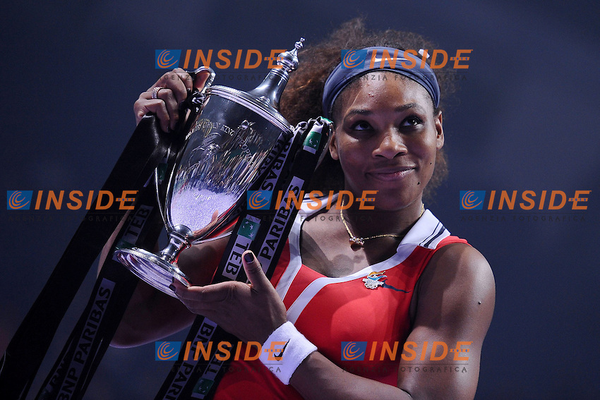 Serena Williams (USA) .Istanbul 28/10/2012 .Tennis Masters Donne 2012.Foto Virginie Bouyer / Panoramic / Insidefoto.ITALY ONLY