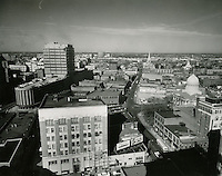 1960 February 15..Redevelopment...Downtown North (R-8)..Downtown Progress..North View from VNB Building..HAYCOX PHOTORAMIC INC..NEG# C-60-5-22.NRHA#..