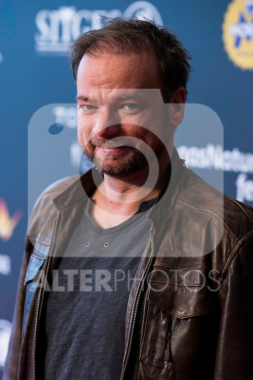 """Norway director Andre Ovredal pose to the media during the presentation of the film """"The Autopsy of Jane Doe"""" at Festival de Cine Fantastico de Sitges in Barcelona. October 10, Spain. 2016. (ALTERPHOTOS/BorjaB.Hojas)"""