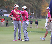 Ryder Cup 2012 Saturday Fourballs