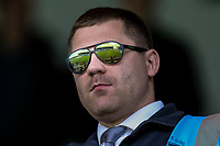 General view of the ABAX Stadium seen in the reflection of the steward's sunglasses ahead of during the Sky Bet League 1 match between Peterborough and Oxford United at the ABAX Stadium, London Road, Peterborough, England on 30 September 2017. Photo by David Horn.