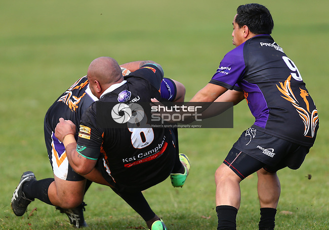 NELSON, NEW ZEALAND - June 6 : Victory v Tahuna June 6th, 2015 in Nelson, New Zealand. (Photo by: Evan Barnes Shuttersport Limited)