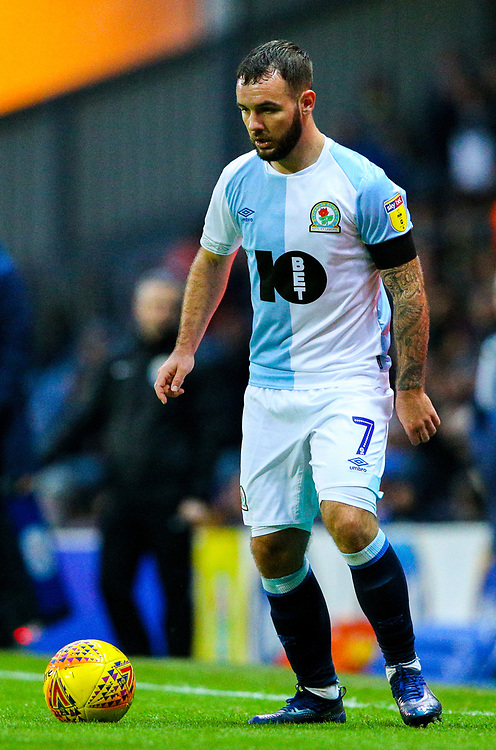 Blackburn Rovers' Adam Armstrong<br /> <br /> Photographer Alex Dodd/CameraSport<br /> <br /> The EFL Sky Bet Championship - Blackburn Rovers v Queens Park Rangers - Saturday 3rd November 2018 - Ewood Park - Blackburn<br /> <br /> World Copyright © 2018 CameraSport. All rights reserved. 43 Linden Ave. Countesthorpe. Leicester. England. LE8 5PG - Tel: +44 (0) 116 277 4147 - admin@camerasport.com - www.camerasport.com