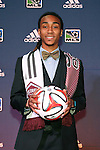 16 January 2014: Marlon Hairston was selected with the twelfth overall pick by the Colorado Rapids. The 2014 Major League Soccer SuperDraft was held at the NSCAA Annual Convention in the Pennsylvania Convention Center in Philadelphia, Pennsylvania.