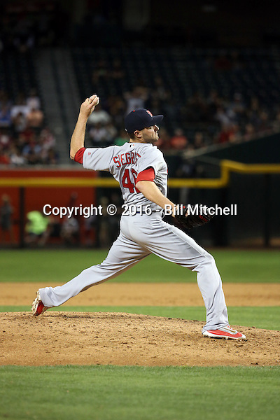 Kevin Siegrist - 2016 St. Louis Cardinals (Bill Mitchell)