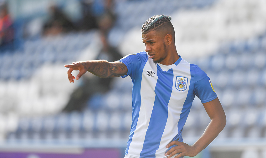 Huddersfield Town's Juninho Bacuna<br /> <br /> Photographer Dave Howarth/CameraSport<br /> <br /> The EFL Sky Bet Championship - Huddersfield Town v Norwich - Saturday September 12th 2020 - The John Smith's Stadium - Huddersfield<br /> <br /> World Copyright © 2020 CameraSport. All rights reserved. 43 Linden Ave. Countesthorpe. Leicester. England. LE8 5PG - Tel: +44 (0) 116 277 4147 - admin@camerasport.com - www.camerasport.com