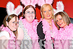 Celebrating Mary Goulding's hen party in Listowel on Saturday night were her friends and family Nicola Goulding, Helen Keane, Elenor and Noreen Goulding.    Copyright Kerry's Eye 2008
