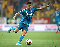 Calcio, Serie A: Parma - Juventus, Parma stadio Ennio Tardini, 24 agosto 2019. in action with  (l) during the Italian Serie A football match between Parma and Juventus at Parma's Ennio Tardini stadium, August 24, 2019. <br /> UPDATE IMAGES PRESS/Isabella Bonotto