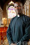 Father Vitalis Barasa, (Kenya) in St. John's Church, Tralee.