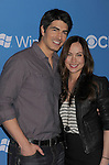 WEST HOLLYWOOD, CA - SEPTEMBER 18: Brandon Routh and Courtney Ford arrive at the CBS 2012 fall premiere party at Greystone Manor Supperclub on September 18, 2012 in West Hollywood, California.