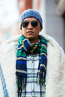 Bryanboy attends Day 4 of New York Fashion Week on Feb 16, 2015 (Photo by Hunter Abrams/Guest of a Guest)