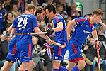 Mannheimer HC - TC Blau-Weiss Berlin - Hallenhockey - Herren - Viertelfinale