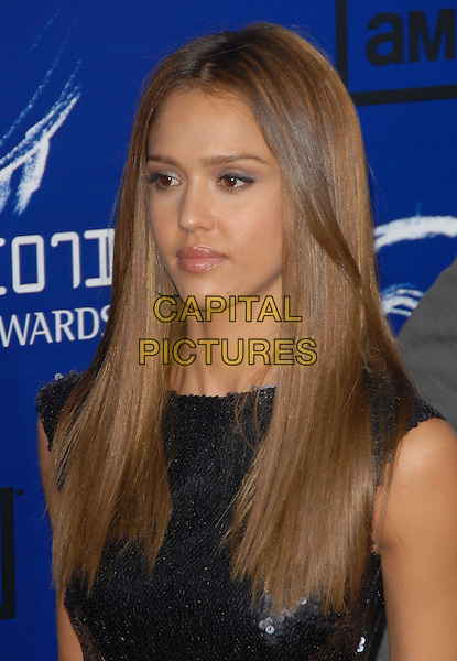 JESSICA ALBA.The 2007 Taurus Stunt Awards held at Paramount Studios in Hollywood, California, USA..May 20th, 2007.headshot portrait .CAP/DVS.©Debbie VanStory/Capital Pictures
