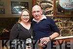 Helen Cronin and TJ Cronin enjoying  the Brogue Inn Marathon After party on Saturday