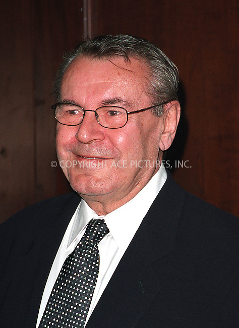 Milos Forman arrives at Waldorf-Astoria for the 3rd Annual Directors Guild of America Awards. New York, June 9, 2002. Please byline: Alecsey Boldeskul/NY Photo Press.   ..*PAY-PER-USE*      ....NY Photo Press:  ..phone (646) 267-6913;   ..e-mail: info@nyphotopress.com