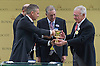 GARY LINEKER PLAYS THE JOKER<br /> dressed in a &quot;penguin suit&quot;, played the joker as he was introduced to the racegoers on the opening day of Royal Ascot 2013, Ascot Racecourse, Ascot_18/06/2013<br /> TV Presenter and ex-Footballer Lineker was on hand to make the presentation to the winner of the Coventry Stakes at the Royal Meeting.<br /> <br /> Mandatory Credit Photo: &copy;Dias/NEWSPIX INTERNATIONAL<br /> <br /> **ALL FEES PAYABLE TO: &quot;NEWSPIX INTERNATIONAL&quot;**<br /> <br /> IMMEDIATE CONFIRMATION OF USAGE REQUIRED:<br /> Newspix International, 31 Chinnery Hill, Bishop's Stortford, ENGLAND CM23 3PS<br /> Tel:+441279 324672  ; Fax: +441279656877<br /> Mobile:  07775681153<br /> e-mail: info@newspixinternational.co.uk