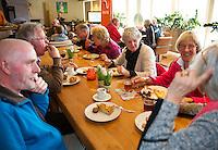 Hilversum, The Netherlands, March 12, 2016,  Tulip Tennis Center, NOVK, High Tea, <br /> Photo: Tennisimages/Henk Koster
