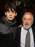 Bobby Conte Thornton and Robert De Niro  during the Actors' Equity Gypsy Robe Ceremony honoring Jonathan Brody for  'A Bronx Tale'  at The Longacre on December 1, 2016 in New York City.
